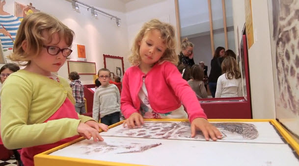 """Picasso - eternal feminine"" : Workshop Secrets a play room for families and children"